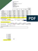 Formato para calculo de VAN TIR