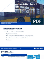 City of Seattle - Transit Service Funding Agreement Presentation - February 2021