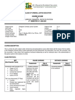 PCJS Course Outline