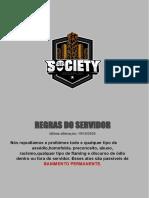 REGRAS DO SERVIDOR