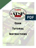 ATSP-Exam-Tutorial-Instructions