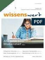 wissenswert Februar 2021 - das Magazin der Leopold-Franzens-Universität Innsbruck