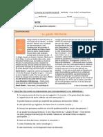 CE - Compréhension Ecrite de Gastronomie B1 - B2