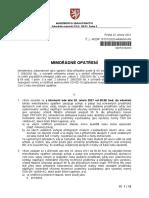 Mimořádné Opatření – Nošení Ochranných Prostředků Dýchacích Cest s Účinností Od 25. 2. 2021 Do Odvolání