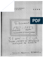 CCUB - Organizare,  Personal 1962-1993