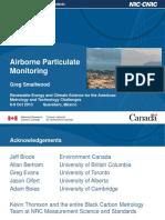 Airborne monitor