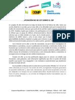 PNL 23F - Desclasificación de Documentos
