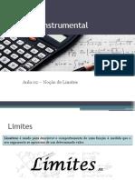 Cálculo Instrumental - Aula 02