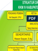 STRUKTUR ORGANISASI KKM IV
