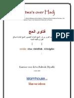 Fatwa's Over Hadj NL