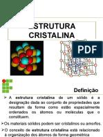 3 - Estrutura Cristalina Mec20