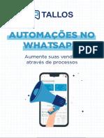 E-book Automações no WhatsApp