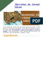 Receita_ Barrinha de Cereal Rica em Fibras