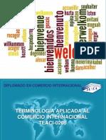 Terminología Aplicada al Comercio Internacional