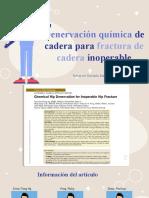 DENERVACION QUIMICA FX CADERA