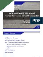 HORMIGONES MASIVOS