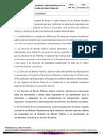 NORMAS GENERALES DE LA DIRECCIÓN DE BIENES PÚBLICOS