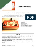 Molten MIDI 2 - Owner's Manual