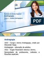 Tema 1 – Modelo Andragógico
