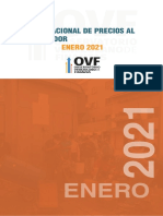 Indice Nacional de Precios Al Consumidor Enero 2021 OVF