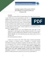 Cazuri COVID-19 Cu Noi Variante_analiza Epidemiologica a Primelor 136 Cazuri