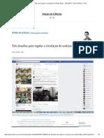 Três desafios para regular a circulação de notícias falsas - 16_01_2018 - Pablo Ortellado - Folha
