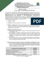 Cirurgia e Traumatologia Buco-maxilo-faciais - Edital20181227164915