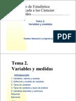 VariablesyMedidas