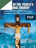 JUSTICE SALDANHA REPORT ON ATTACKS ON CHRISTIANS IN KARNATAKA