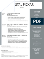 pickar 2020 resume