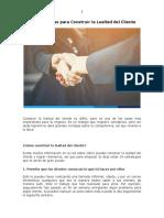 18 Estrategias para Construir la Lealtad del Cliente