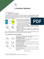 Résumé Transistor Bip