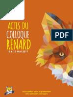 Actes-Colloque-Renard-ASPAS