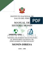 Manual de Sistema MONIN-DIRESA