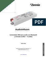 Manual AudioInRoom SP v1.1 A