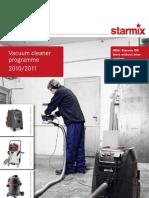 Starmix vacuum cleaner 2011_EN