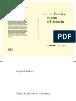 Poesia Razon e Historia 2010