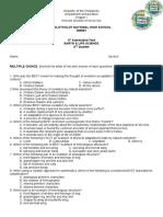 summative test ELS (4th-quarter 2)