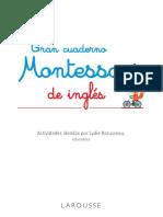 Gran Cuaderno Montessori de Ingles