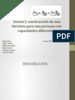 Diseño y construcción de una bicicleta proyecto