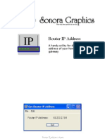 Router IP User Guide Win