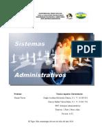 Informe de Los Sistemas Administrativos