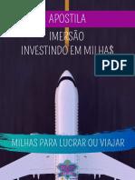 Apostila Imersão Investindo em Milhas