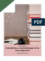Estadística y Metodología de La Investigacion