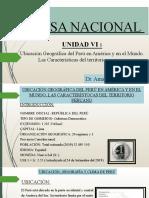 Defensa Nacional Clase 6 - Caracteristicas del Territorio Peruano
