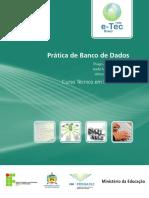Pratica Banco Dados PB CAPA Ficha ISBN 20130909