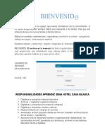 APRENDIZ HOTEL CASA BLANCA