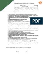 Medidass de Bioseguridad Aprendiz