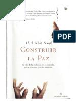 Thich Nhat Hanh - Construir La Paz