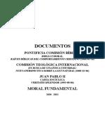 Documentos, Moral Fundamental